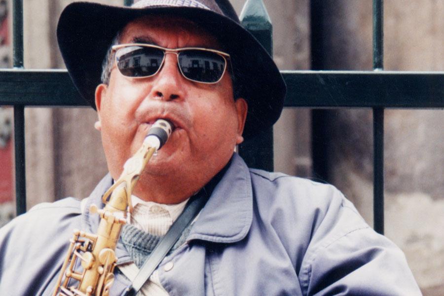 Quito Ecuador Musician - Personal Biographics Web Design by Steven Andrew Martin PhD